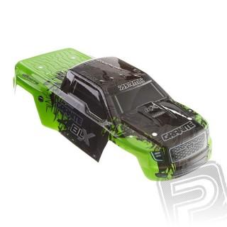 Lakovaná karoserie, zelená, Granite 2016 BLX