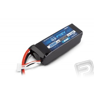 FOXY G2 - LC Li-Pol 2600mAh/14,8V 40/80C 38,5Wh