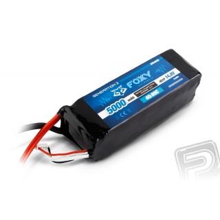 FOXY G2 - LC Li-Pol 5000mAh/14,8V 40/80C 74,0Wh