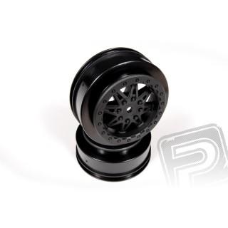 2.2 3.0 Raceline Renegade disky - 34mm (černé, (2 ks.)