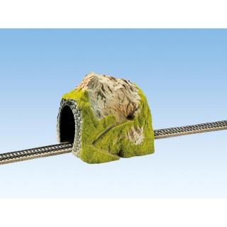 Hora s tunelem, rovný, jednokolejných 18 x 18 cm NO02120