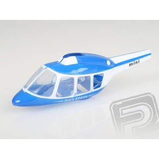 Kabina modrá - Jet TRACER