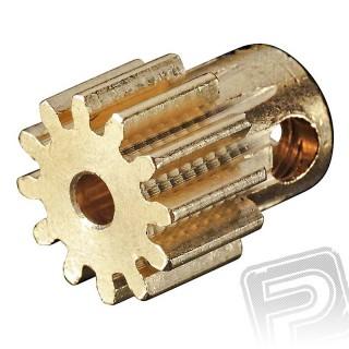 Pastorek 12T .6 modul 2mm hřídel