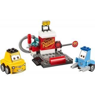 LEGO Juniors - Zastávka v boxech Guida a Luigiho