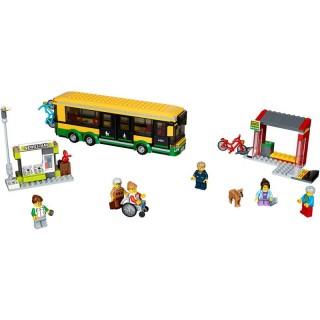 LEGO City - Zastávka autobusu