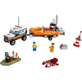 LEGO City - Vozidlo zásahové jednotky 4x4