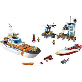 LEGO City - Základna pobřežní hlídky