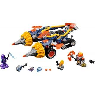 LEGO Nexo Knights - Axlův vůz Drtič