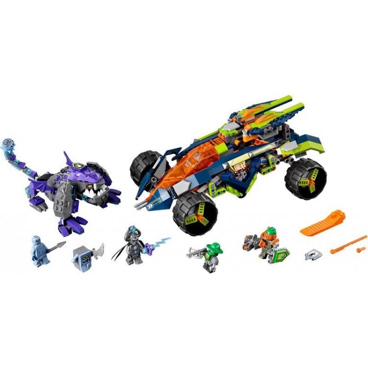 LEGO Nexo Knights - Aaronův vůz Horolezec