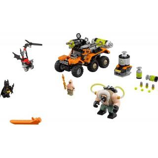LEGO Batman Movie - Bane a útok s náklaďákem plným jedů