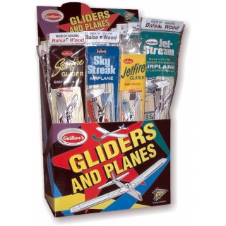 Combo Pack 4 (4x12 ks balsová házedla a gumáčky výhodné balení