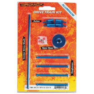 Drive Train Aluminum Upgrade Kit BX MT SC 4.18