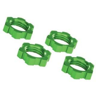 X-Maxx: Matice kol 17mm zelené (4)