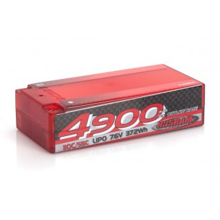 NOSRAM 4900 - Shorty P5 - 110C/55C - 7.6V LiPo - 1/10 Outlaw Race Hardcase