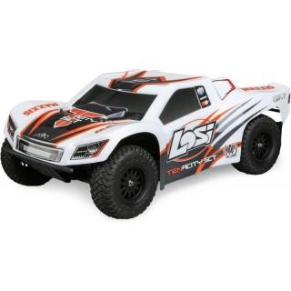 Losi Tenacity SCT 4WD RTR AVC bílo-oranžový
