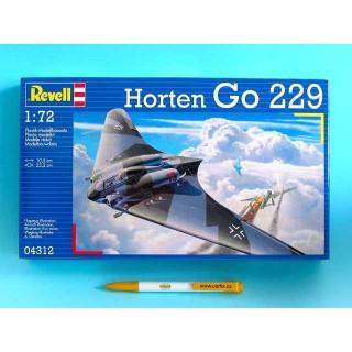 Plastic ModelKit letadlo 04312 - Horten Go-229  (1:72)