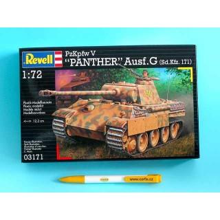 Plastic ModelKit tank  03171 - Kpfw. V Panther Ausg. G  (1:72)