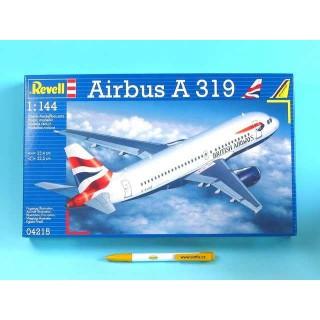 Plastic ModelKit letadlo 04215 - Airbus A319 (1:144)