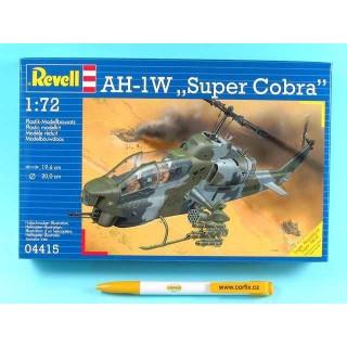 Plastic ModelKit vrtulník 04415 - AH-1W Super Cobra  (1:72)