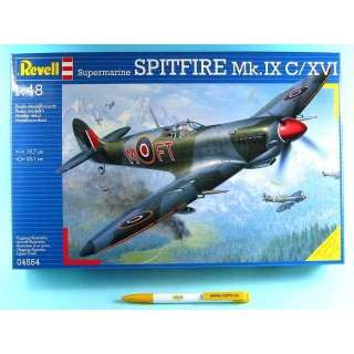 Plastic ModelKit letadlo 04554 - Spitfire Mk. IXC (1:48)