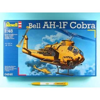 Plastic ModelKit vrtulník 04646 - AH-1F Cobra  (1:48)