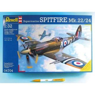 Plastic ModelKit letadlo 04704 - Supermarine Spitfire Mk. 22/2 (1:32)