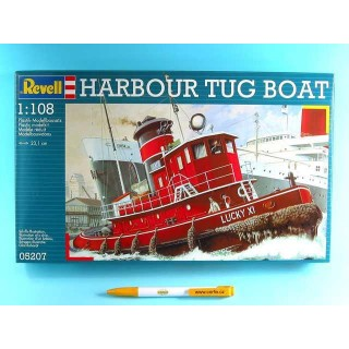 Plastic ModelKit loď 05207 - Harbour Tug Boat (1:108)