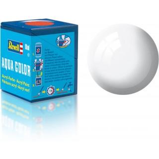 Barva Revell akrylová - 36104: leská bílá (white gloss)