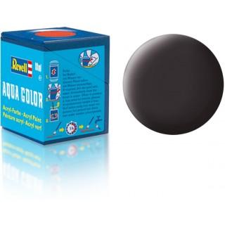 Barva Revell akrylová - 36106: matná dehtově černá (tar mat)