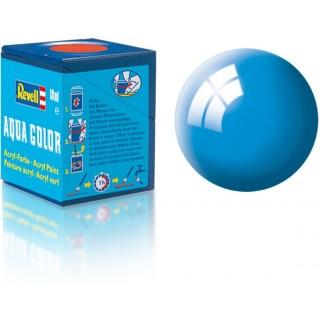 Barva Revell akrylová - 36150: lesklá světle modrá (light blue gloss)