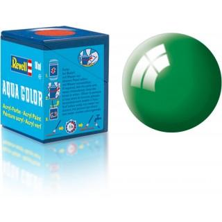 Barva Revell akrylová - 36161: lesklá smaragdově zelená (emerald green gloss)