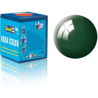 Barva Revell akrylová - 36162: leská zelenomodrá (sea green gloss)