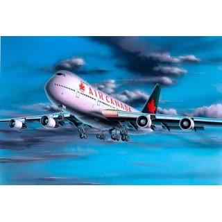 Plastic ModelKit letadlo 04210 - Boeing 747-200 Air Canada (1:390)