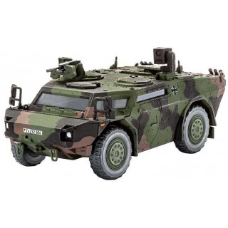Plastic ModelKit military 03136 - Scout car Fennek (1:72)