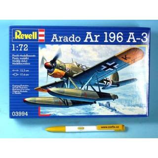 Plastic ModelKit letadlo 03994 - Arado 196 A-3 Seaplane (1:72)