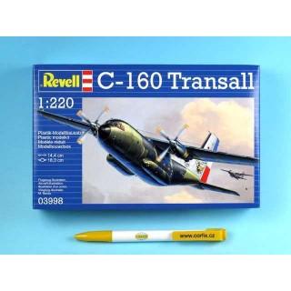 Plastic ModelKit letadlo 03998 - C160 Transall (1:220)
