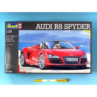 Plastic ModelKit auto 07094 - Audi R8 Spyder (1:24)