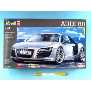 Plastic ModelKit auto 07398 - Audi R8 (1:24)