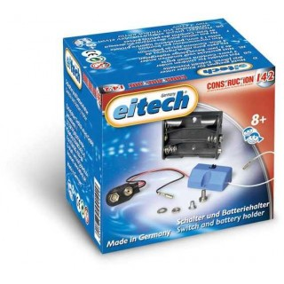 EITECH Supplement Box - C142 Battery - Case with on/off switch 4,5V
