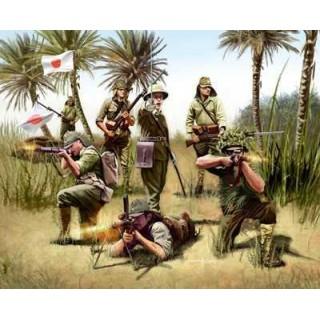 Plastové figurky 02528 - Japanese Infantry WWII (1:76)