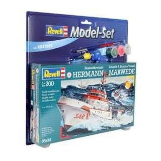 ModelSet loď 65812 - DGzRS Hermann Marwede  (1:200)