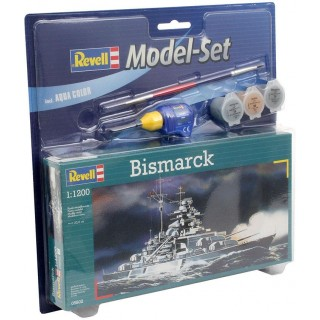 ModelSet loď 65802 - Bismarck (1:1200)