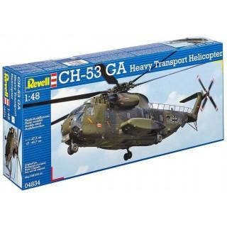 Plastic ModelKit vrtulník 04834 -  CH-53 GA Heavy Transport Helicopter(1:48)