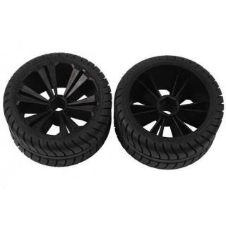 REVELL - REVELLUTIONS (47205) - Set 2x Rear Wheel for Buggy, black