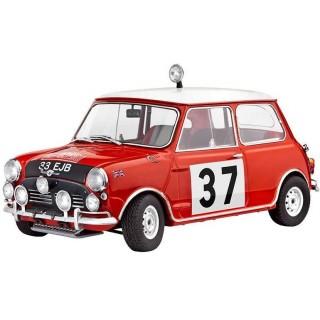 Plastic ModelKit auto 07064 - Mini Cooper Rallye (Winner Monte Carlo 1964) (1:24)
