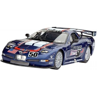 "Plastic ModelKit auto 07069 - Corvette C5-R ""Compuware (1:25)"