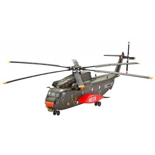ModelSet vrtulník 64858 - CH-53G Heavy Transport Helicopter (1:144)