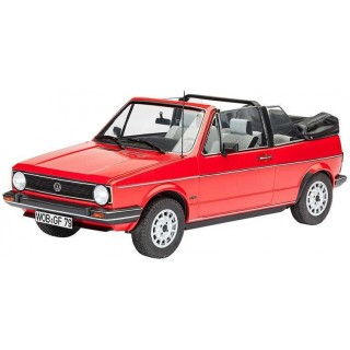 Plastic ModelKit auto 07071 - VW Golf 1 Cabriolet (1:24)