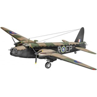 Plastic ModelKit letadlo 04903 -Vickers Wellington Mk.II (1:72)