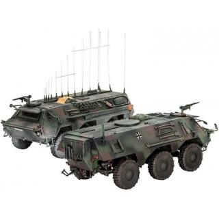 """Plastic ModelKit military 03139 - TPz 1 Fuchs EloKa """"Hummel"""" / ABC (1:72)"""